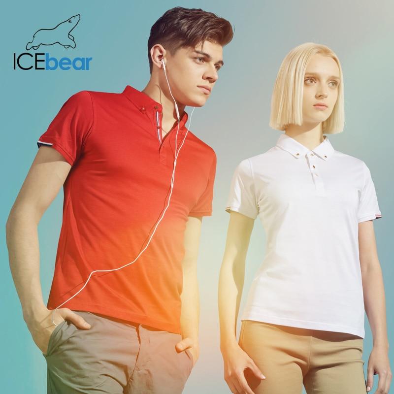 Icebear 2020 New Short Sleeve T-Shirt Tencel Long-Sleeved Cotton High Quality Short Sleeve 1601