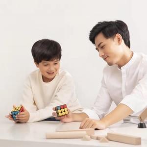 Image 5 - شاومي Mijia الذكية بلوتوث المكعب السحري بوابة الربط 3x3x3 Mi مربع المغناطيسي مكعب لغز العلوم تعليم التعليم لعبة هدية