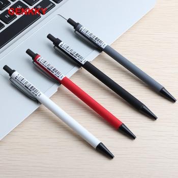 1/8/Uds lápiz automático de calidad para estudiantes 0,5mm 0,7mm lápiz de actividades para evitar que resbaladiza la molienda Penholder Metal papelería Penci