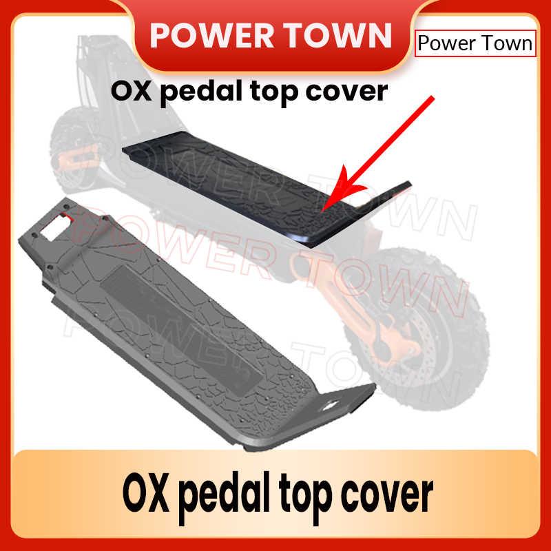 Оригинальные аксессуары для электрического скутера OXO, педаль, верхняя крышка, Пластиковая Задняя Крышка