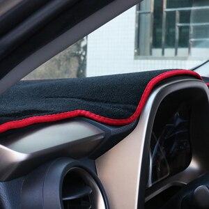 Image 5 - トヨタRAV4 2013 2016 2017 2018 2019 2020 lhd/rhd車のダッシュボードカバーマット回避ライトパッド抗uvカバーカーペットアクセサリー