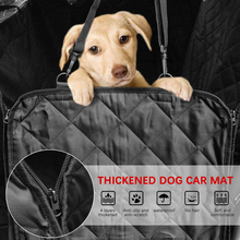 Pet Dog Carrier Car Bench Seat Cover Dog Car Seat Cover Luxury Quilted Car Travel Waterproof Pet Hammock Mat Cushion Protector autoyouth pink towel seat cushion universal fit car seat protector pet mat dog car seat cover