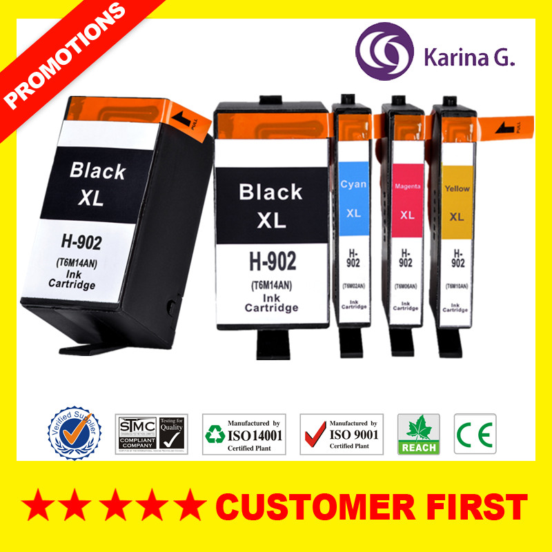 902XL Compatible For Hp902 Ink Cartridge Suit For OfficeJet Pro 6954/6960/6962/6968/6975/6978 All-in-One Printer  Etc.