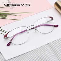 MERRYS DESIGN Women Fashion Cat Eye Glasses Frame Ladies Trending Eyewear Myopia Prescription Optical Eyeglasses S2053