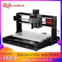 KKMOON 3018 Pro Machine de gravure Laser GRBL ER11Control CNC Machine de gravure routeur en bois avec contrôleur hors ligne tige d'extension
