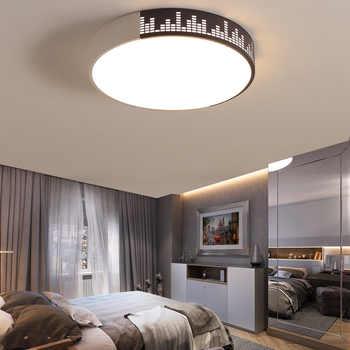 Modern High Brightness LED Circular Panel Light 50W Surface Mounted Led Ceiling Light AC 85-265V Lampada Led Lamp Bedroom - Category 🛒 Lights & Lighting