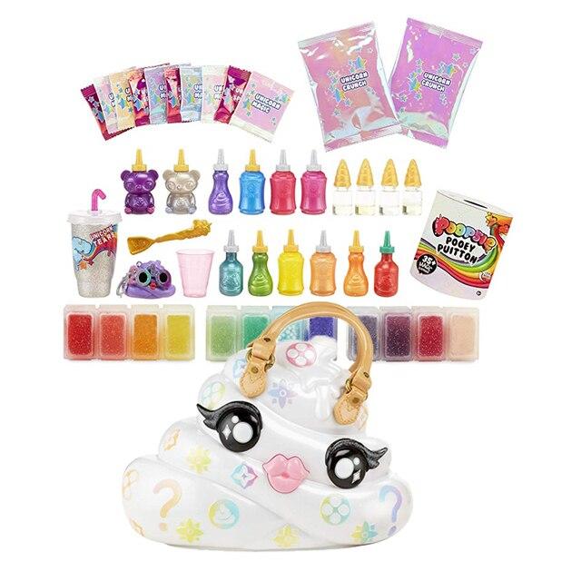 Poopsie Slime Surprise Pooey Puitton Purse with 35 Magic Surprises Clay Diy Fidget Toys Birthday Surprise Series Gift 1