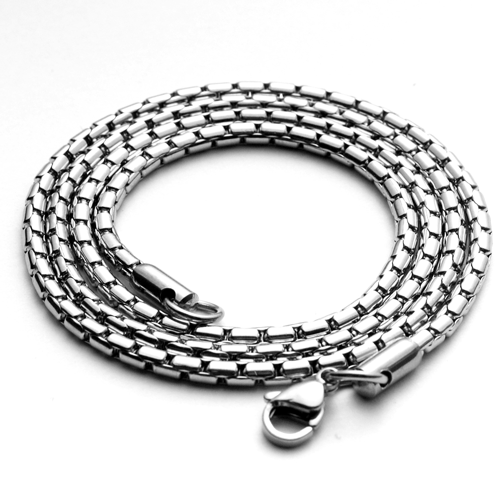 Stainless Steel Necklace Personality Long Necklace For Man Chain Necklaces    - AliExpress