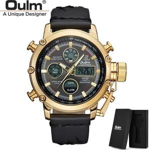 Oulm Quartz Sport Watches Men