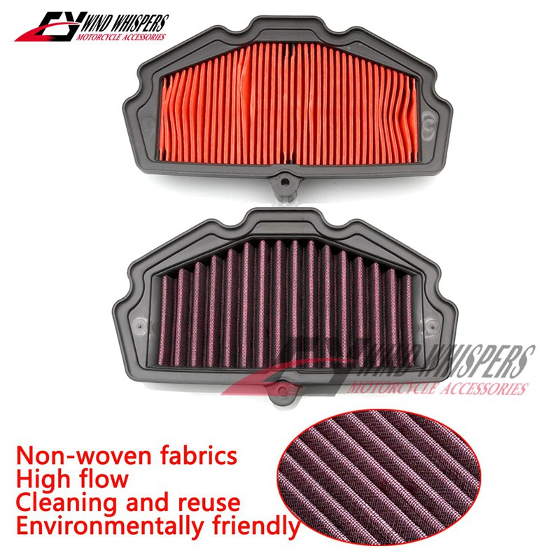 Washable Motorcycle Air Filter For Kawasaki VERSYS 650 ABS 2015-2019 NINJA 650 2017-2018 KLE 650 KLE650 Z 650 Z650 VULCAN 650 S(China)