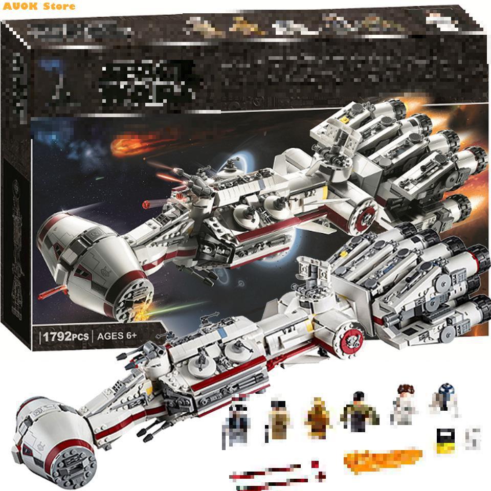 Строительные блоки Fit 75244 Star MOC Wars, игрушки, подарок для детей, новинка 2020, 1748 шт., модель бегуна Tantive Iv Rebel блокад