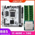 B85 материнская плата LGA 1150 комплект с процессором Intel core I5 4690 Процессор процессор 16 Гб (2*8 ГБ) DDR3 Оперативная память памяти M.2 NVME B85I-PLUS