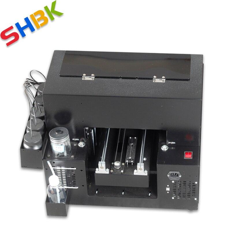 ¡Entrega Gratuita! 2020 nueva impresora UV de tamaño A4 mejorada para impresión de acrílico, plástico transparente, vidrio y material plano transparente. - 5
