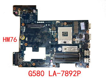 HOLYTIME laptop Motherboard/mainboard for Lenovo G580 LA-7982P QIWG5_G6_G9  HM76 integrated graphics card
