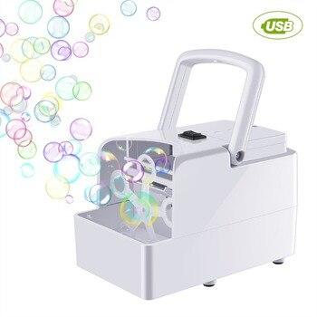Blase Maschine Automatische Blase Gebläse Party Geburtstag Hochzeit Blase Maker Sommer Outdoor Spielzeug für Kinder Dropshipping