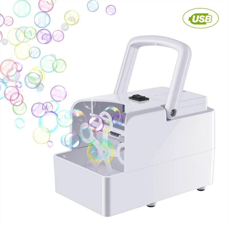 Bubble Machine Automatic Bubble Blower Party Birthday Wedding Bubble Maker Summer Outdoor Toy For Kids Dropshipping