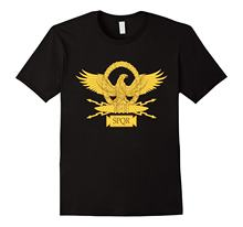 Ropa de marca a la moda para hombre, camiseta de estilo Hip Hop para Fitness Spqr, playera romana Senatus popular Que Romanus, camisetas baratas