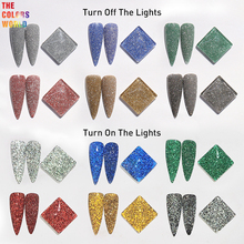 TCT-453 Crystal Diamond  Reflective Flash Powder Nail Glitter Nail Art Decoration Tumbler Crafts Accessories Festival Supplier