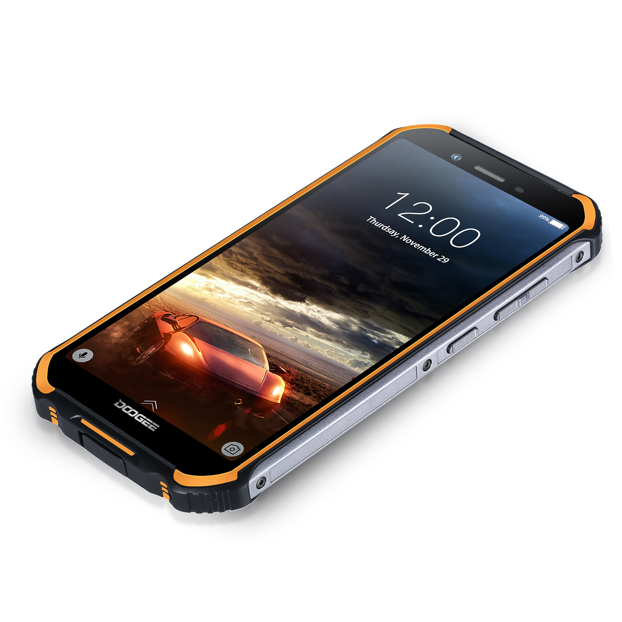 Image 5 - DOOGEE S40 S40 Lite IP68/IP69K Rugged Mobile Phone 5.5 Inch Android 9.0 Smartphone MT6739 Quad Core Cellphone 3GB 32GB 4650mAh-in Cellphones from Cellphones & Telecommunications