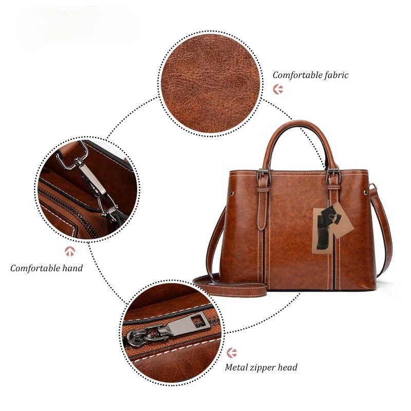 Высококачественные дамские сумочки, модные женские сумки-мессенджеры на плечо, вместительные сумки в стиле ретро, однотонная женская сумка через плечо, сумки-тоуты