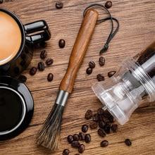 Storage-Bag Durable Wood Cleaning-Brush Coffee-Powder Wild-Boar-Bristles Easy-To-Fall