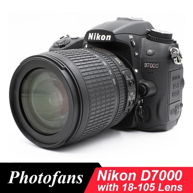 Nikon D7000 DSLR камера с объективом Nikon 18-105 мм