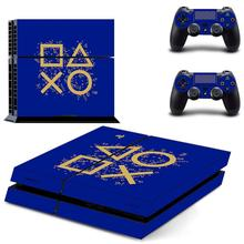 Days of Play PS4 Stickers Play station 4 Skin Sticker Game Decals For PlayStation 4 PS4 Console & Controller Skins Vinyl