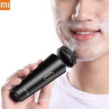 KRIBEE גברים חשמלי ניקוי ניקוי מכשיר זכר עמוק ניקוי פנים טיפוח עור לעיסוי טעינה