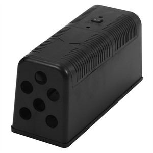 Image 4 - Electronic Mouse Killer Rat Zapper Exterminator Trap Humane Rodent Mousetrap Device 235X102X113MM DC6V