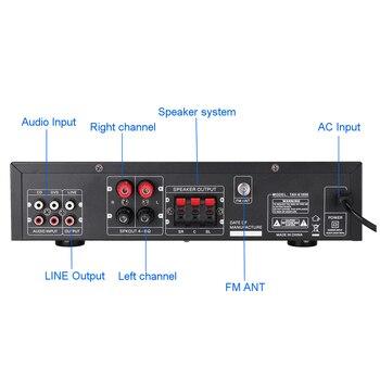 Усилитель мощности SUNBUCK TAV-6188E, Bluetooth, 5 каналов, AUX, USB, FM, SD 3