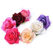 Yfashion Cute Sweet Simulation Rose Flower Hair Clip Decoration