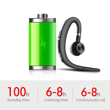 Wireless Bluetooth 5.0 Earphone Stereo Ear Hook Noise Cancelling Headset Driving Handsfree with Microphone Headphone Support iOS