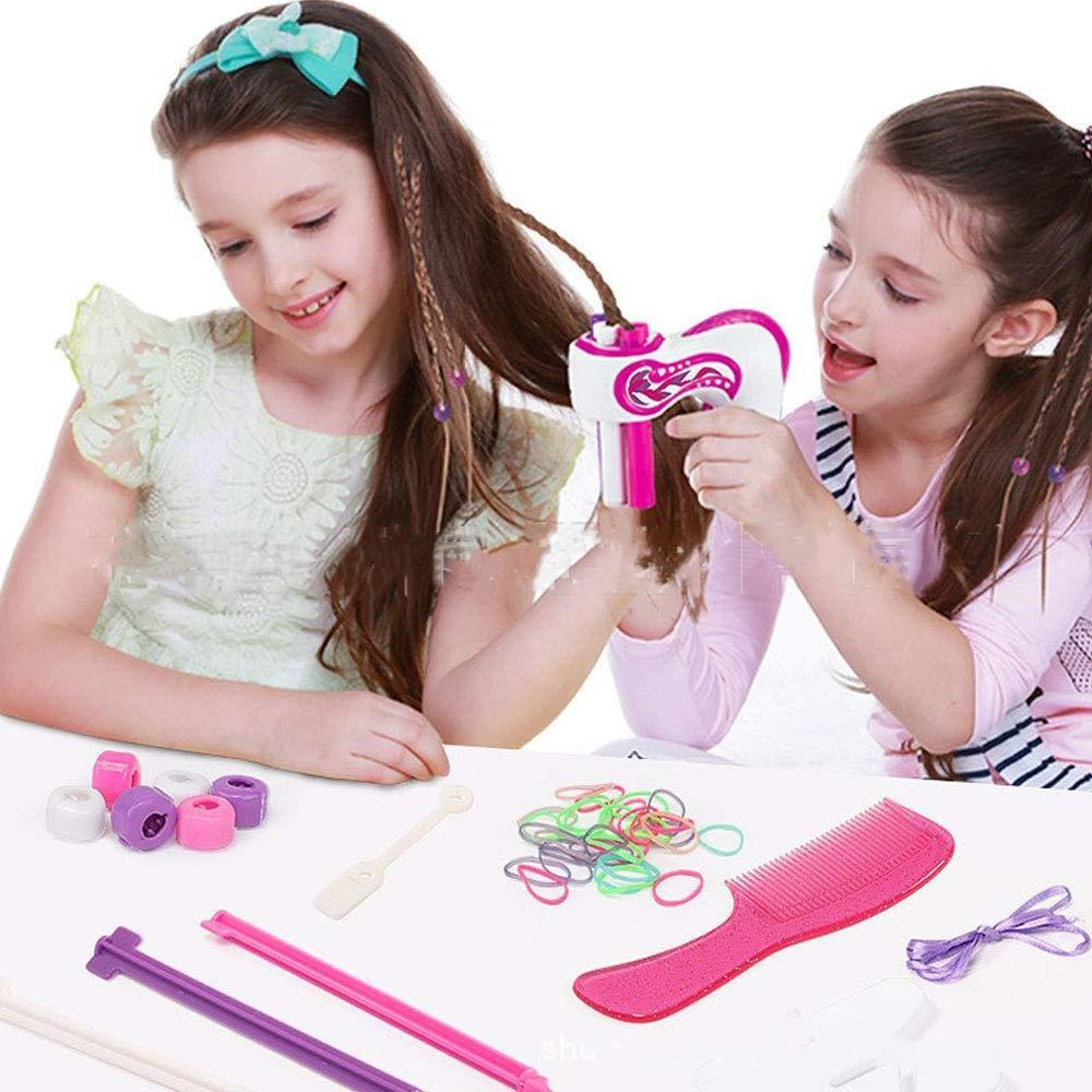 Electric Safe And Non-toxic Creative Hair Styling Automatic Braider Holiday Party Editing Artifact Toys Set For Girls