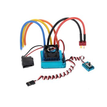 120A Sensored Brushless ESC Speed Controller T plug for 1/8 1/10 1/12 RC Car Crawler Replacement Parts RC Accessories image
