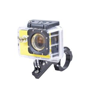 Image 3 - Aluminum Bike Bicycle Handlebar Bar Clamp Mount Holder Adapter Standard 31 31.8mm For Gopro Hero 2 3 3+ 4 5 6 7 xiaomi yi Camera