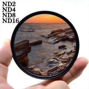 Image 1 - KnightX ND2 4 8 16 FILTER Voor canon sony nikon 1300d foto 60d 500d 200d fotografie 2000d dslr 49 52 55 58 62 67 72 77 mm