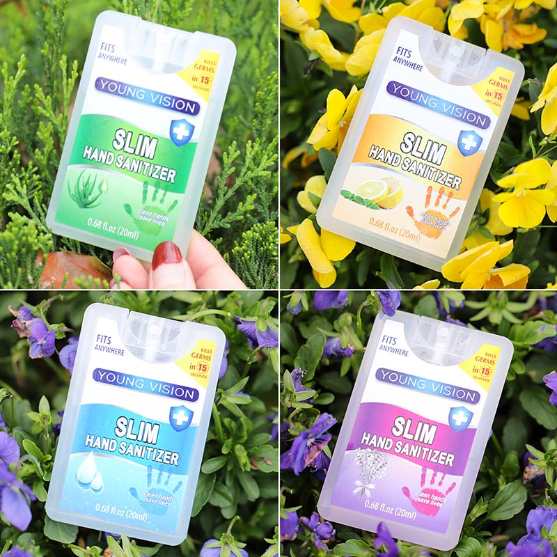 Travel Portable Alcohol Spray Hand Sanitizer Household Cleaners Antiseptic Skin Cleaning Care Disinfectant Spray Hand Soap Gift