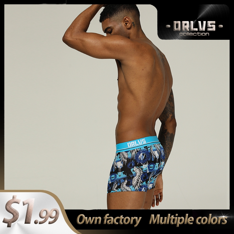 Underware Cotton Comfortable Sexy Men Underwear Boxer Shorts Fashion Lingeries Mens Boxershorts Underware Boxers Freegun OR303