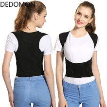 Correcteur de Posture du dos, Corset de soutien de la colonne vertébrale, ceinture lombaire, Bandage pour hommes et femmes