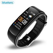 Montre intelligente C5S, Bluetooth IP67, étanche, moniteur de fréquence cardiaque, de sommeil, plusieurs modes de sport, informations, rappel de Vibration