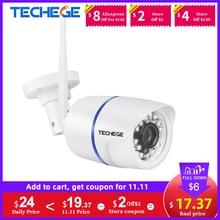 Techege 1080 720p wifi ipカメラワイヤレスonvifオーディオ2MP屋外赤外線ナイトビジョンモーション検出ビデオ監視カメラ