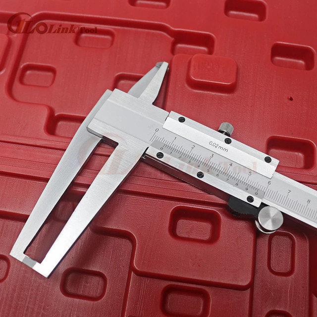 Inside Groove Vernier Caliper 9-150mm/0.02 Carbon Steel Inner Vernier Calipers Double Inner Vernier Calipers Accuracy