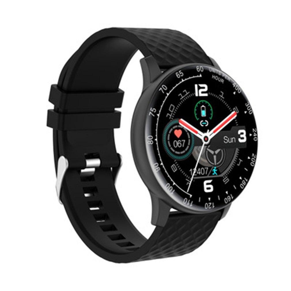 Novo h30 relógio inteligente pode personalizar o mostrador para desligar a tela e manter brilhante registro rastreador freqüência cardíaca sangue para ios telefone
