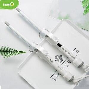 Image 4 - saengQ Hair Curler Not Hurt Hair Mini Perm Stick Electric Hair Stick Buckle Hair Curler Air Bangs Electric Coil 9/13/16MM