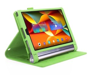 Image 3 - Case Voor Lenovo Yoga Tab3 Tab 3 Plus YT X703F / Yoga3 X90 Pro X90F / L 10.1 Inch Tablet Hoge kwaliteit Flip Stand Leather Cover