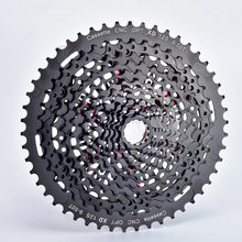 Sunshine cassete de bicicleta mtb, cassete de bicicleta de 12 velocidades 9-50t 540g 9-50t preto cassete k7 de 12 s