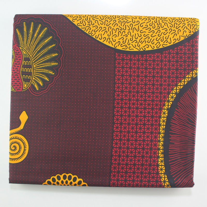 Veritable Guarantee Real Dutch Wax Nigeria Ankara Pagnes African Real Dutch Wax 6yard