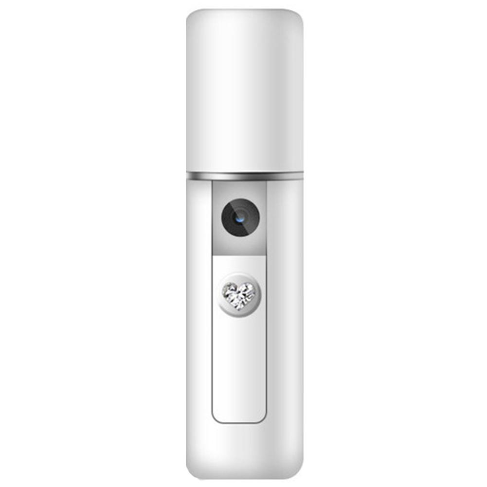 Portable Handheld USB Nanomist Facial Humidifier Steamer Hydrating Beauty Device Face Sun Repair Pore Cleansing Tool Skin Care
