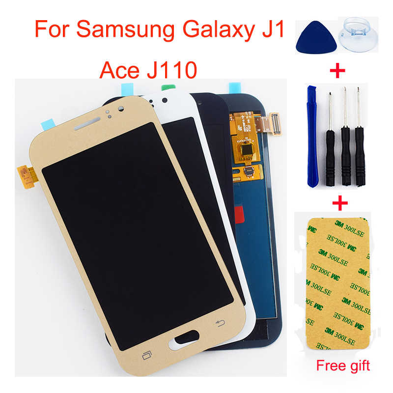 J1 Ace LCD For Samsung Galaxy J1 Ace J110 J110F J110H J110FM J111 J111F J111M J111FN LCD Display Touch Screen Digitizer Assembly