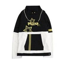 Brdwn Touhou Project Unisex Kirisame Marisa Cosplay Hoodie Pullover Coat Jackets Hooded Tops